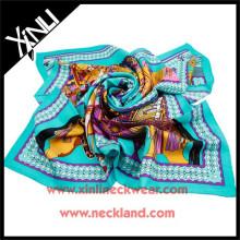 Cravate écharpe imprimée en soie populaire