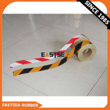 Yellow & Black or Orange & White Reflective Stripe Caution Barricade Tape