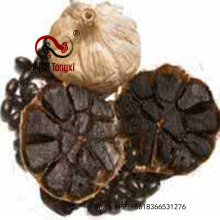 Natural Fermented Black Garlic In The Markrt