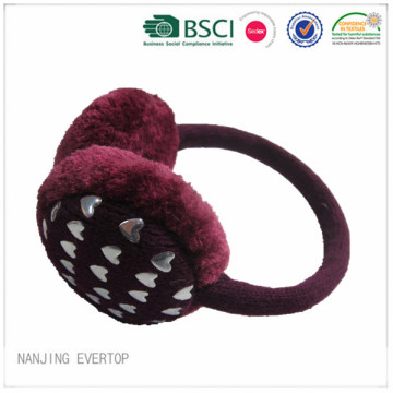 Winter Warm Ear Muff With Rivet
