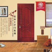 Les fournisseurs chinois balancent la porte mdf pvc simple, le prix de la porte en contreplaqué, la porte de la cuisine