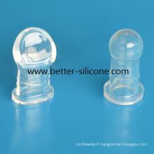Bouchon d'oreille de silicone de qualité médicale / protecteur