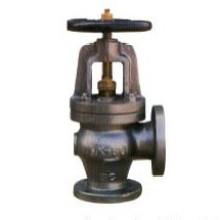 Válvula de ângulo de aço fundido marinho (RX-MV-RK F7314 20K)