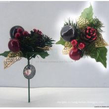 Красивые Новогодние украшения, Новогодние пластик берет