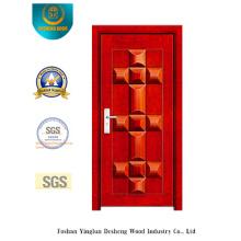 Porta de Segurança com Cor Vermelha para Exterior (b-3020)