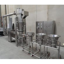 wheat powder granulator fluid bed dryer
