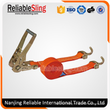 """1"""" Cargo Lashing Ratchet Tie Down Strap with Hook"""