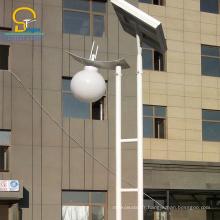 La lampe de rechange menée solaire de jardin de 8M 60W, taille adaptée aux besoins du client a mené les lumières solaires pour le jardin solaire mené parc / yard / lumières de jardin