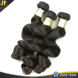 Mature Loose Wave Raw Human Hair 8A Beautiful Brazilian Hair Weaving