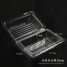 Boîte à contenants pour aliments en fibre de santé en plastique (emballage PP transparent)