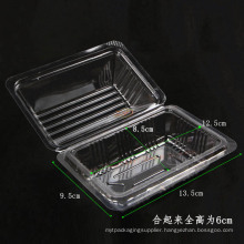 health plastic clamshell food container box (clear PP packaging)
