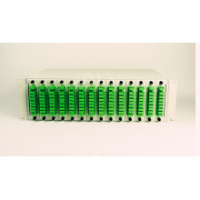 "Caja de distribución de fibra óptica de 19 """