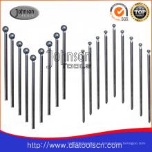 Serie galvanizada de puntos montados en diamante para moler