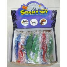 Misture cores Brinquedo de crocodilo esticado e pegajoso