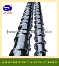 PE PP PVC PS ABS PA POM plastic extrusion screw barrel