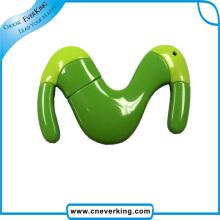 Plastic Novelty Animal Shape USB