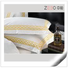 Algodão Egípcio 80S Super Soft Sateen tecido decoração travesseiro caso à venda