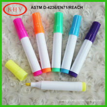 LED board fiber tip wet erase chalk marker