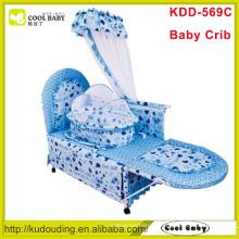 2015 Hersteller NEUE Baby-Krippe mit innerer Wiege und Moskitonetz