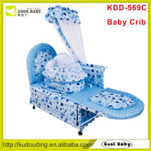 2015 Manufacturer NEW Baby Crib with Inner cradle and mosquito net