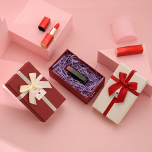 Caixa de presente de fita adesiva para batom cosmético de aniversário do festival
