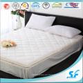 Impermeable algodón suave acolchado colchón protector