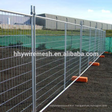 welded wire mesh fence anping factory Australian type galvanized temporary fence