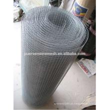 Malha de arame soldada galvanizada, malha de arame soldada de baixo carbono