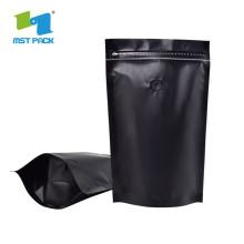 Bahan plastik berlamina Pembungkusan kopi Stand Up Bag