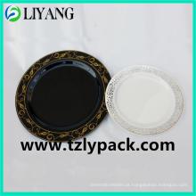 Zhejiang, Hot Stamping Foil para prato de plástico, folha de ouro