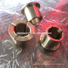 C86300 C95400 JDB-1U varillas de bronce fundido teniendo, brida de aleación de aluminio con arbusto de pezón