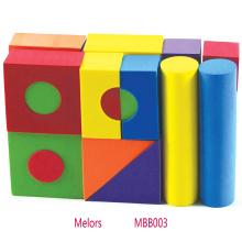 25шт DIY образовательные игрушки EVA пены строительные блоки