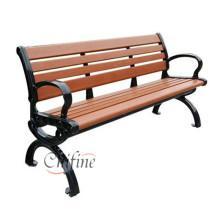 Изготовленный на заказ Чугун Садовая скамейка для скамейка дверь