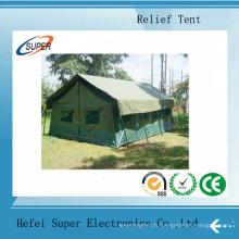 Tente de secours temporaire en PVC blanc pour tente de stockage d'exposition