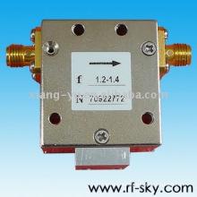 BI100PA_1-2G 1-2GHz rf banda ancha aislador guía de onda tipo 100W