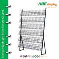 6-tier warehouse metal mesh cd shelf