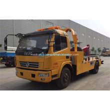 4x2 New condition flat bed wrecker towing truck