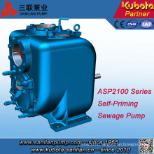 Sanlian Stainless Steel Chemicals Self-Priming Pump