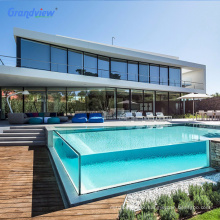 Transparent  acrylic thick plate acrylic glass sheet for swimming pools