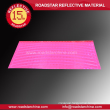 Check embossing safety reflective wheels decals