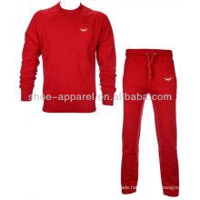 2014 new design cheap fleece tracksuit for women