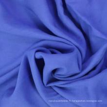 Tissu à viscose à rayons de 100% 100% pour chemise