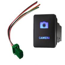 12V 3AMP Camera Push Switch Toyota Prado 150 Landcruiser 200 RAV4 Blue Light