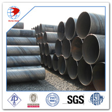 API 5L spirale Arc submergé soudure SSAW Pipe