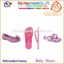 Sandalias hermosas de los cabritos de los deslizadores de los niños de los altos talones