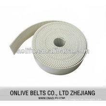 Polyuréthane ceintures ouverts avec cordon en acier