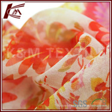 Free Sample Printed Silk Georgette Fabric