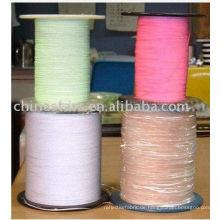Sortierte Farben ein- oder doppelseitig Reflektierendes Garn