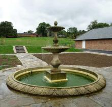 Panas menjual kolam hiasan Taman marmar air pancut untuk dijual