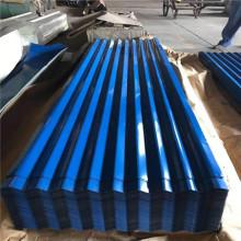 Hoja de techo corrugado galvanizado de zinc